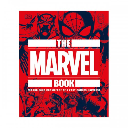 The Marvel Book : Expand Your Knowledge Of A Vast Comics Universe (Hardcover)