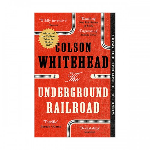 [2017 퓰리처상]  The Underground Railroad (Paperback, 영국판)