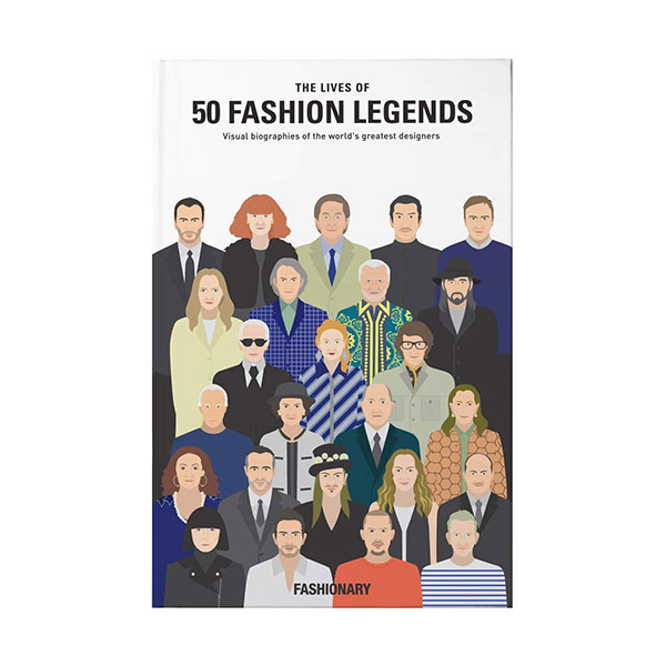 The Lives of 50 Fashion Legends (Hardcover, 영국판)