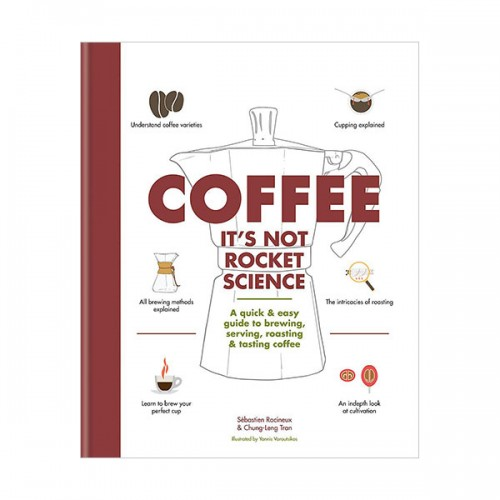 [★Stylish★]Coffee : It's not rocket science (Hardcover, 영국판)