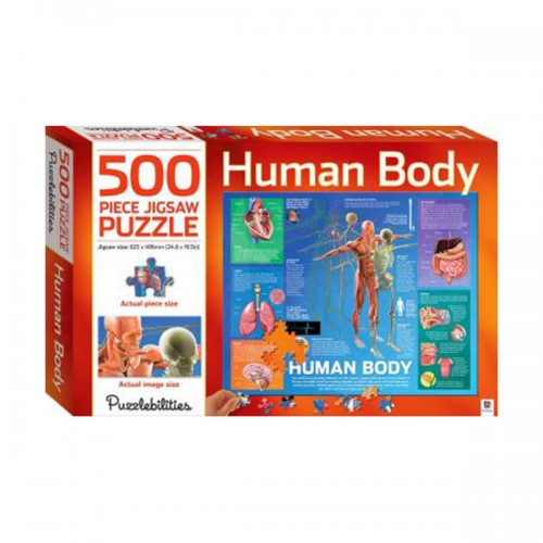 500 Piece Jigsaw Puzzle : Human Body (Puzzle)