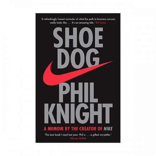 Shoe Dog : A Memoir by the Creator of NIKE (Paperback, 영국판)