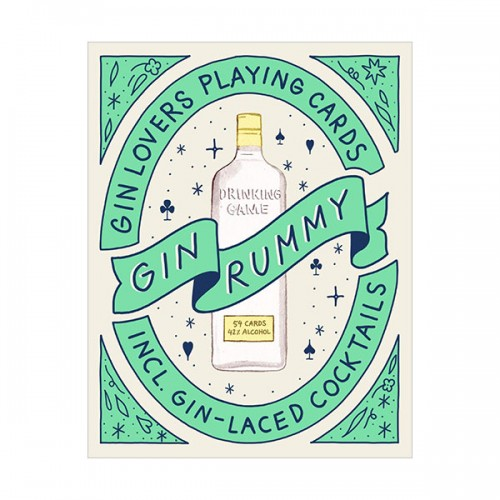 Gin Rummy : Gin Lovers Playing Cards(Cards)