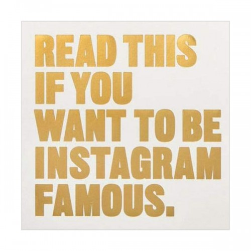 Read This if You Want to Be Instagram Famous (Paperback, 영국판)