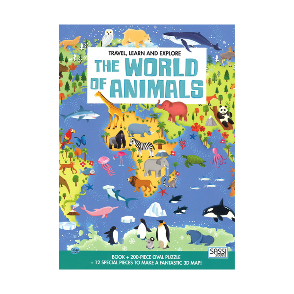 Travel, Learn and Explore ? The World of Animals (200-Piece)