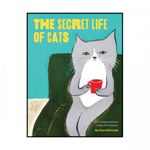The Secret Life of Cats Correspondence Cards (Cards)