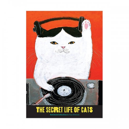 The Secret Life of Cats Notebook Collection (Diary)
