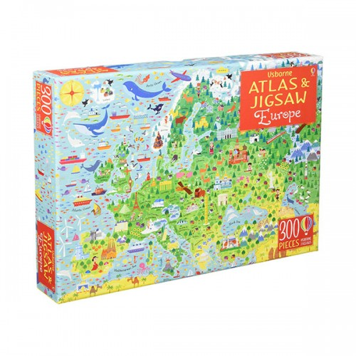 300 Piece Jigsaw Puzzle : Europe (Puzzle, 영국판)