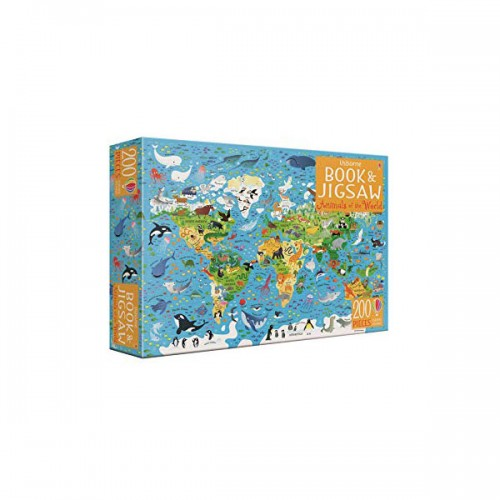 200 Piece Animals of the World Book and Jigsaw (Puzzle, 영국판)