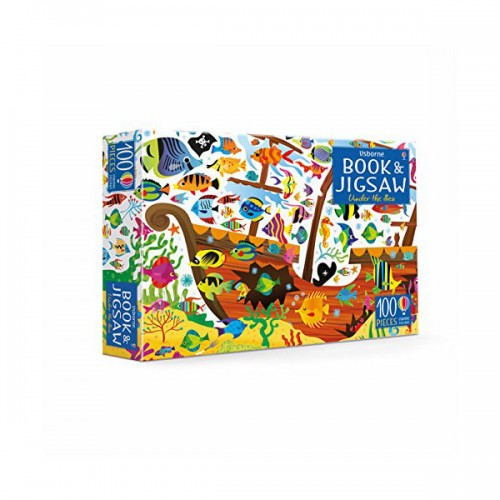 100 Piece Under the Sea Book and Jigsaw (Puzzle, 영국판)