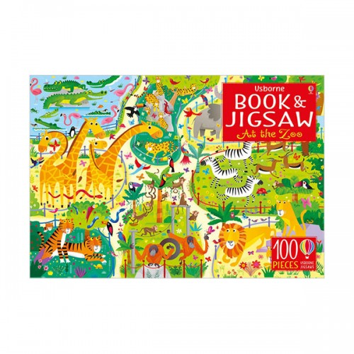 100 Piece At the Zoo Book and Jigsaw (Puzzle, 영국판)