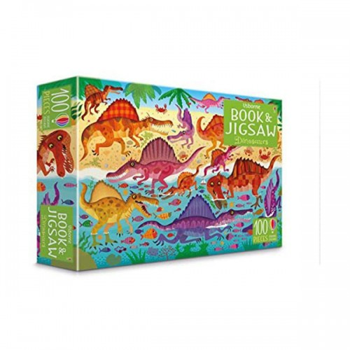 100 Piece Dinosaurs Book and Jigsaw (Puzzle, 영국판)