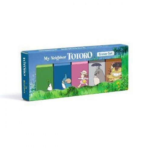 ★키즈코믹콘★My Neighbor Totoro Eraser Set