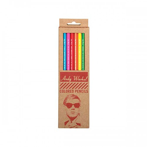 Andy Warhol Philosophy 2.0 Colored Pencils