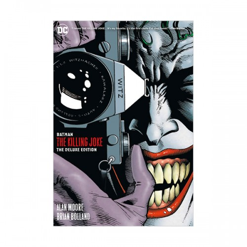 Batman : The Killing Joke Deluxe (New Edition, Hardcover)