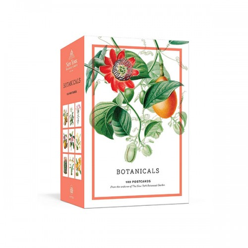 Botanicals : 100 Postcards from the Archives of the New York Botanical Garden (Cards)