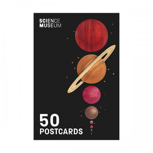 Science Museum 50 Postcards (Cards)