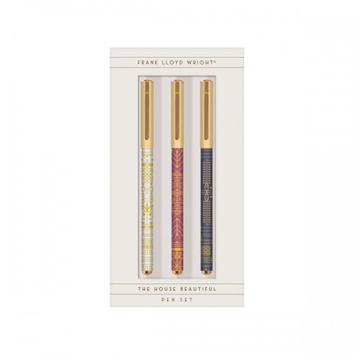 Frank Lloyd Wright The House Beautiful Everyday Pen Set (Pen)