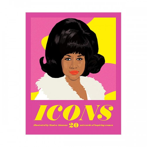 Icons Notecards: 20 Notecards of Inspiring Women (Cards)
