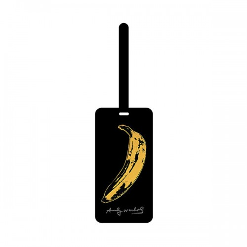 Andy Warhol Banana Luggage Tag