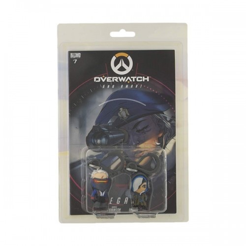 Blizzard Overwatch Backpack Hangers : 2-pack Soldier 76 & Ana
