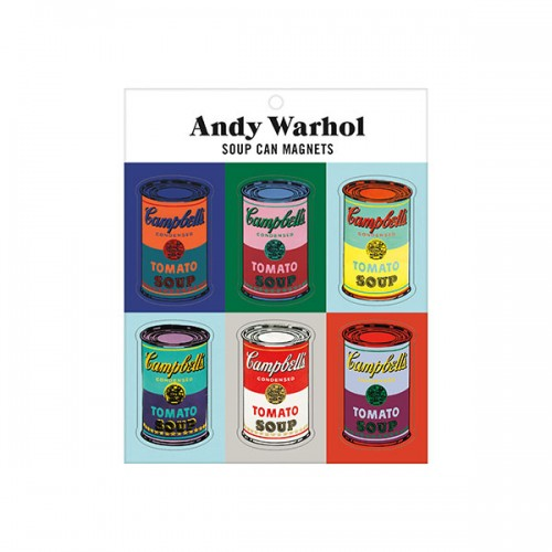 ★키즈코믹콘★Andy Warhol Soup Can Magnets