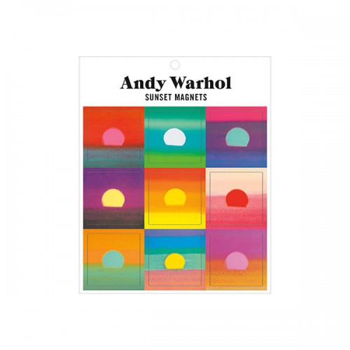 ★키즈코믹콘★Andy Warhol Sunset Magnets
