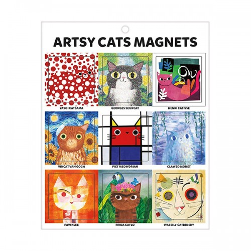 Artsy Cats Magnets