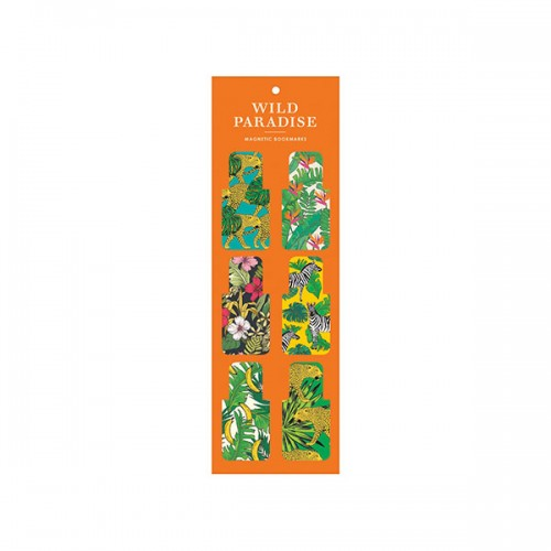 Wild Paradise Magnetic Bookmark