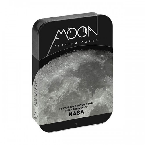 Moon Playing Cards : Featuring photos from the archives of NASA (Cards)