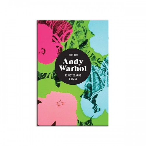 Andy Warhol Pop Art Notecard Set (Cards)