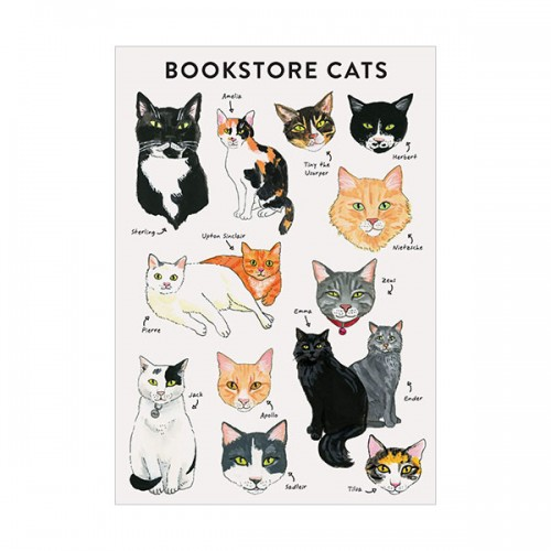 Bibliophile Flexi Journal : Bookstore Cats (Diary)