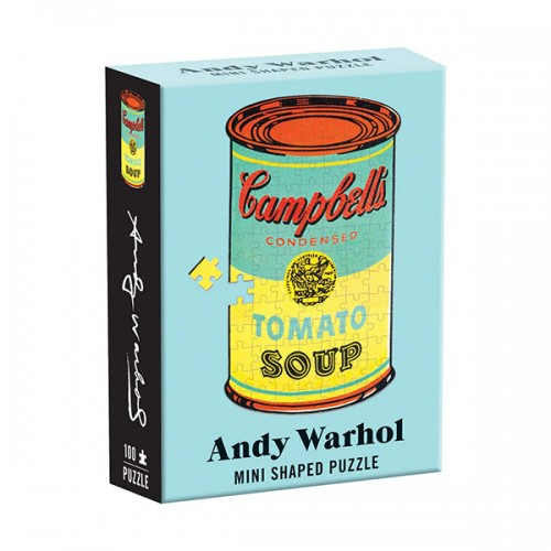 Andy Warhol Mini Shaped Puzzle Campbell's Soup (Puzzle)