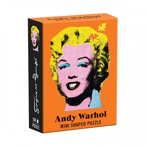 Andy Warhol Mini Shaped Puzzle Marilyn (Puzzle)