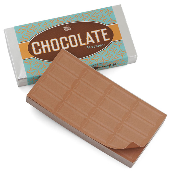 Chocolate Notepad (Stationery)