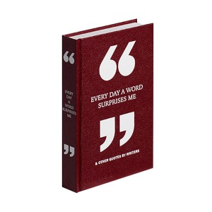 [★Stylish★]Every Day a Word Surprises Me & Other Quotes by Writers (Hardcover, 영국판)