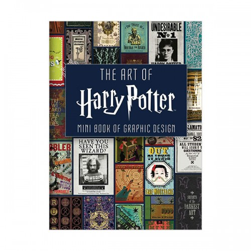 The Art of Harry Potter : Mini Book of Graphic Design (Hardcover)