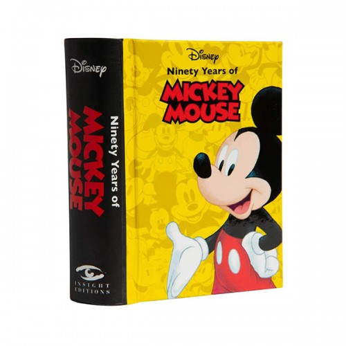 Mini Book : Disney Ninety Years of Mickey Mouse (Hardcover)