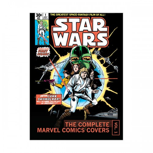 Star Wars : The Complete Marvel Comics Covers Mini Book, Vol. 1 (Hardcover)