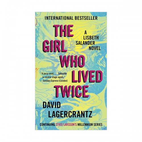 Millennium Series #06 : The Girl Who Lived Twice (Paperback)
