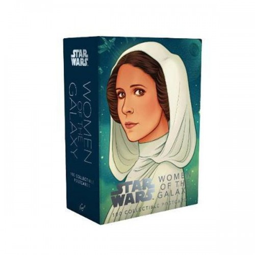 Star Wars : Women of The Galaxy : 100 Collectible Postcards (Cards)
