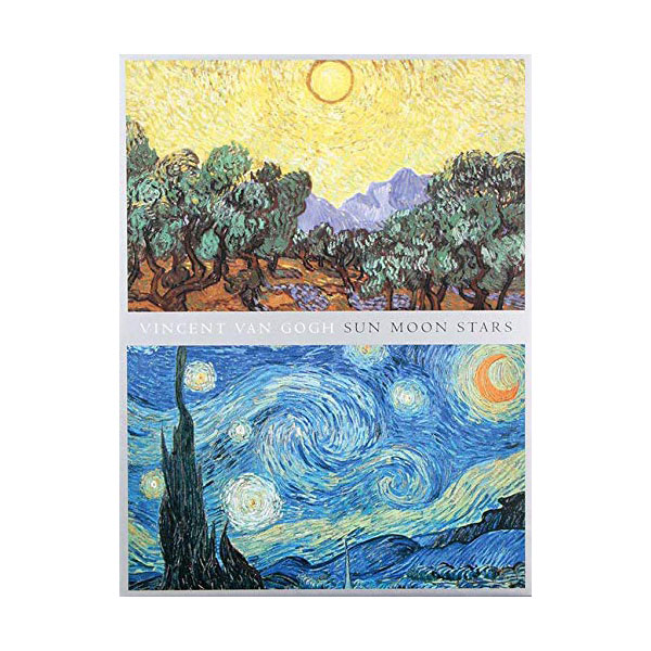 Van Gogh Sun Moon Stars Portfolio Notes (Cards)