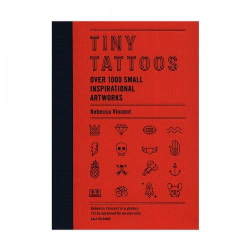 Tiny Tattoos : Over 1,000 Small Inspirational Artworks (Hardcover, 영국판)