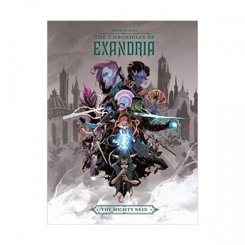 Critical Role : The Chronicles of Exandria The Mighty Nein (Hardcover)