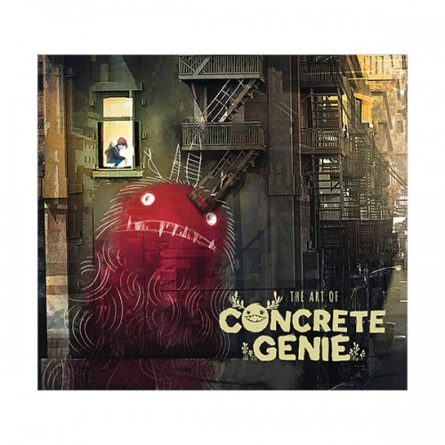 The Art of Concrete Genie (Hardcover)