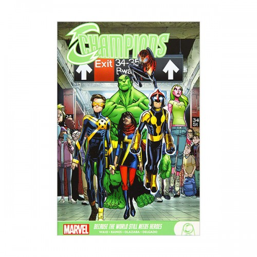 Champions : Because the World Still Needs Heroes (Paperback)
