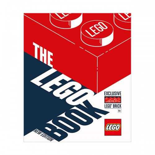 The LEGO Book, New Edition : with exclusive LEGO brick (Hardcover)