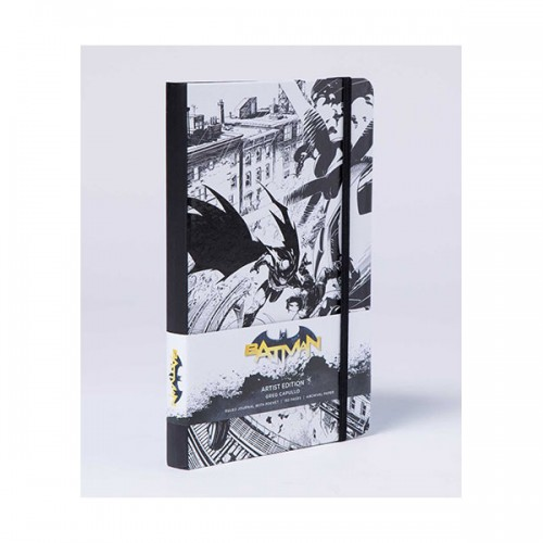 DC Comics : Batman Hardcover Ruled Journal (Hardcover)