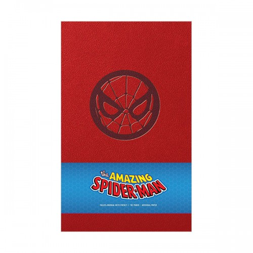 Marvel : Spider-Man Hardcover Ruled Journal (Hardcover)