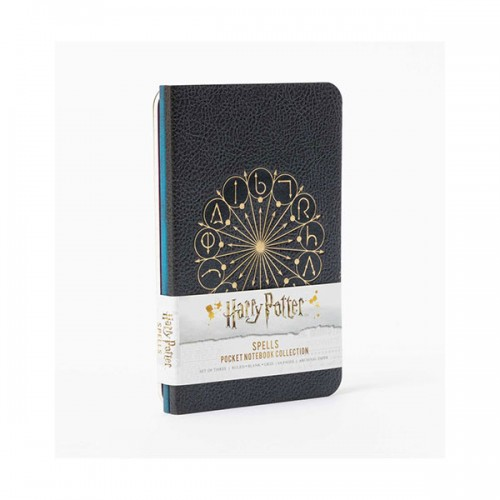 Harry Potter : Spells Pocket Notebook Collection (Paperback)